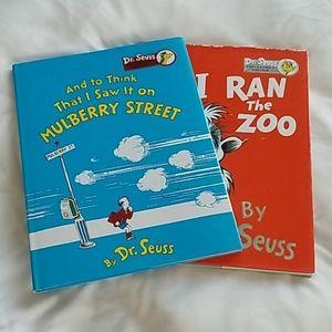 Two Dr. Seuss Books